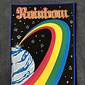 Rainbow - Patch - Rainbow - Down to Earth back patch
