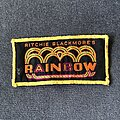 Rainbow - Patch - Rainbow Ritchie Blackmore's Rainbow yellow logo patch
