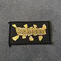 Samson - Patch - Samson gold logo patch
