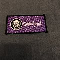 Motörhead Snaggletooth logo patch