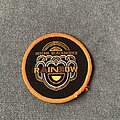 Rainbow - Patch - Rainbow Ritchie Blackmore's Rainbow logo orange border patch
