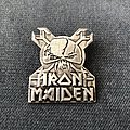 Iron Maiden - The Final Frontier pin