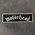Motörhead - Patch - Motörhead logo strip patch