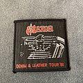 Saxon - Patch - Saxon - Denim and Leather tour patch