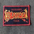 Saxon - Patch - Saxon Crusader tour patch