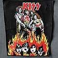 Kiss - Patch - Kiss Lick it Up back patch