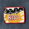 Kiss - Patch - Kiss band and logo patch