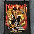 Manowar - Patch - Manowar 'Agony and Ecstasy' patch