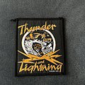 Thin Lizzy - Patch - Thin Lizzy - Thunder and Lightning tour patch