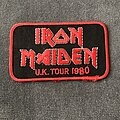 Iron Maiden - Patch - Iron Maiden UK Tour 1980 patch