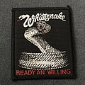 Whitesnake - Patch - Whitesnake - Ready an' Willing patch