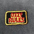 Ozzy Osbourne - Patch - Ozzy Osbourne Ozzy Rules patch