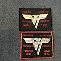 Van Halen - Patch - Van Halen world tour patches
