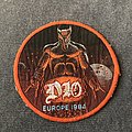 Dio - Patch - Dio Europe 84 orange border patch