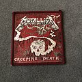 Metallica - Patch - Metallica - Creeping Death red border