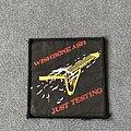 Wishbone Ash - Patch - Wishbone Ash Just Testing patch