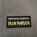 Iron Maiden - Patch - Iron Maiden Heavy Metal for Muthas patch