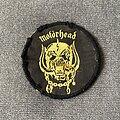 Motörhead - Patch - Motörhead snaggletooth yellow logo patch