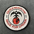 Queensryche - Patch - Queensrÿche - Rage for Order patch