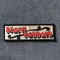 Black Sabbath - Patch - Black Sabbath mini logo patch