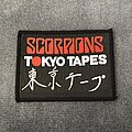Scorpions - Patch - Scorpions - Tokyo Tapes patch