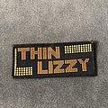 Thin Lizzy - Patch - Thin Lizzy logo mini strip patch