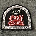 Ozzy Osbourne - Patch - Ozzy Osbourne Talk of the Devil shaped patch