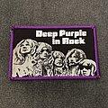Deep Purple - Patch - Deep Purple - In Rock patch (purple border)