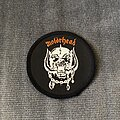 Motörhead - Patch - Motörhead logo and snaggletooth circle patch