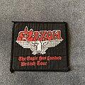 Saxon - Patch - Saxon - The Eagle has Landed British Tour patch