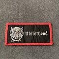 Motörhead - Patch - Motörhead logo and snaggletooth mini strip patch