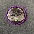 Girlschool purple border circle patch for Koolg71