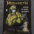 Megadeth - Patch - Megadeth - So Far, So Good... So What! back patch
