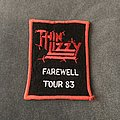 Thin Lizzy - Patch - Thin Lizzy Farewell Tour 83 patch