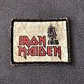 Iron Maiden - Patch - Iron Maiden logo and Eddie patch