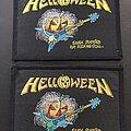 Helloween - Patch - Helloween Savage Pumpkins patch variants (?)