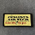 Stryper - Patch - Stryper To Hell with the Devil logo patch