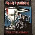Iron Maiden - 2 Minutes to Midnight back patch 1984