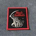 Black Sabbath - Patch - Black Sabbath Paranoid square patch