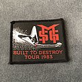 Michael Schenker Group - Patch - Michael Schenker Group Built To Destroy Tour patch