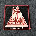 Def Leppard - Patch - Def Leppard tour 1980 patch