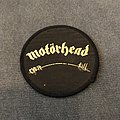 Motörhead - Overkill circle patch