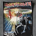 Iron Maiden - Patch - Iron Maiden 2 Minutes to Midnight back patch