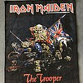 Iron Maiden - Patch - Iron Maiden The Trooper back patch