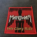 Manowar - Into Glory Ride patch