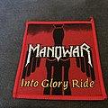 Manowar - Patch - Manowar - Into Glory Ride patch