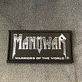 Manowar - Patch - Manowar Warriors of the World patch