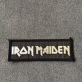 Iron Maiden - Patch - Iron Maiden silver logo patch
