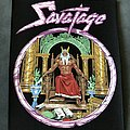 Savatage - Hall of the Mountain King back patch