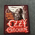 Ozzy Osbourne - Patch - Ozzy Osbourne - Bark at the Moon patch